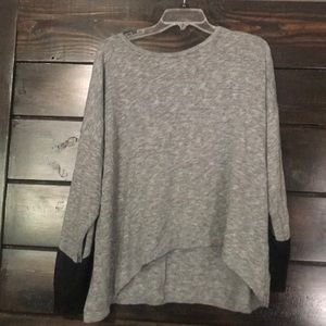Black And Grey Long Sleeve